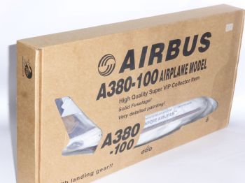 Airbus A380 Singapore Airlines Risesoon Skymarks Collectors Model Scale 1/200 P